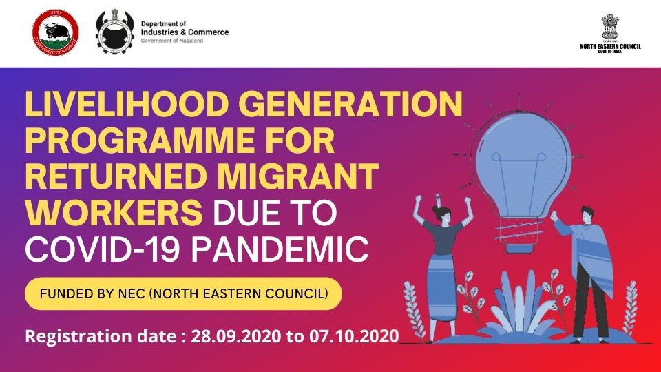 Livelihood Generation Programme for Returned Migrant Workers due to Covid-19 Pandemic